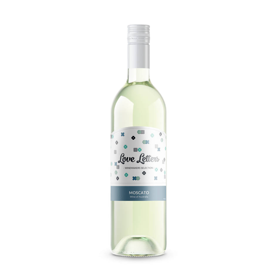 Love Letters Moscato NV (12x 750mL), SEA