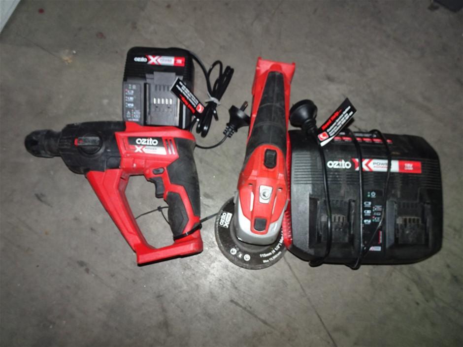 Qty of 2 Ozito Cordless Power Tools