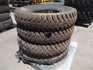 4x West Lake Heavy Duty Tyres