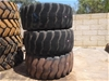 3x Bridgestone Heavy Machinery Tyres