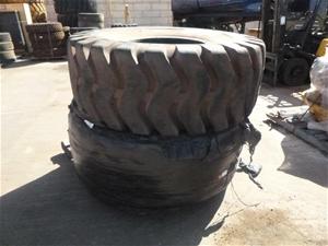 2x Advance Heavy Duty Tyres
