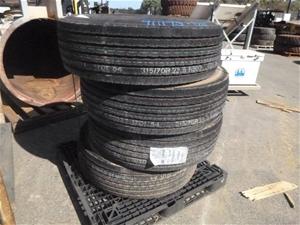 4x Kumiho Heavy Duty Tyres