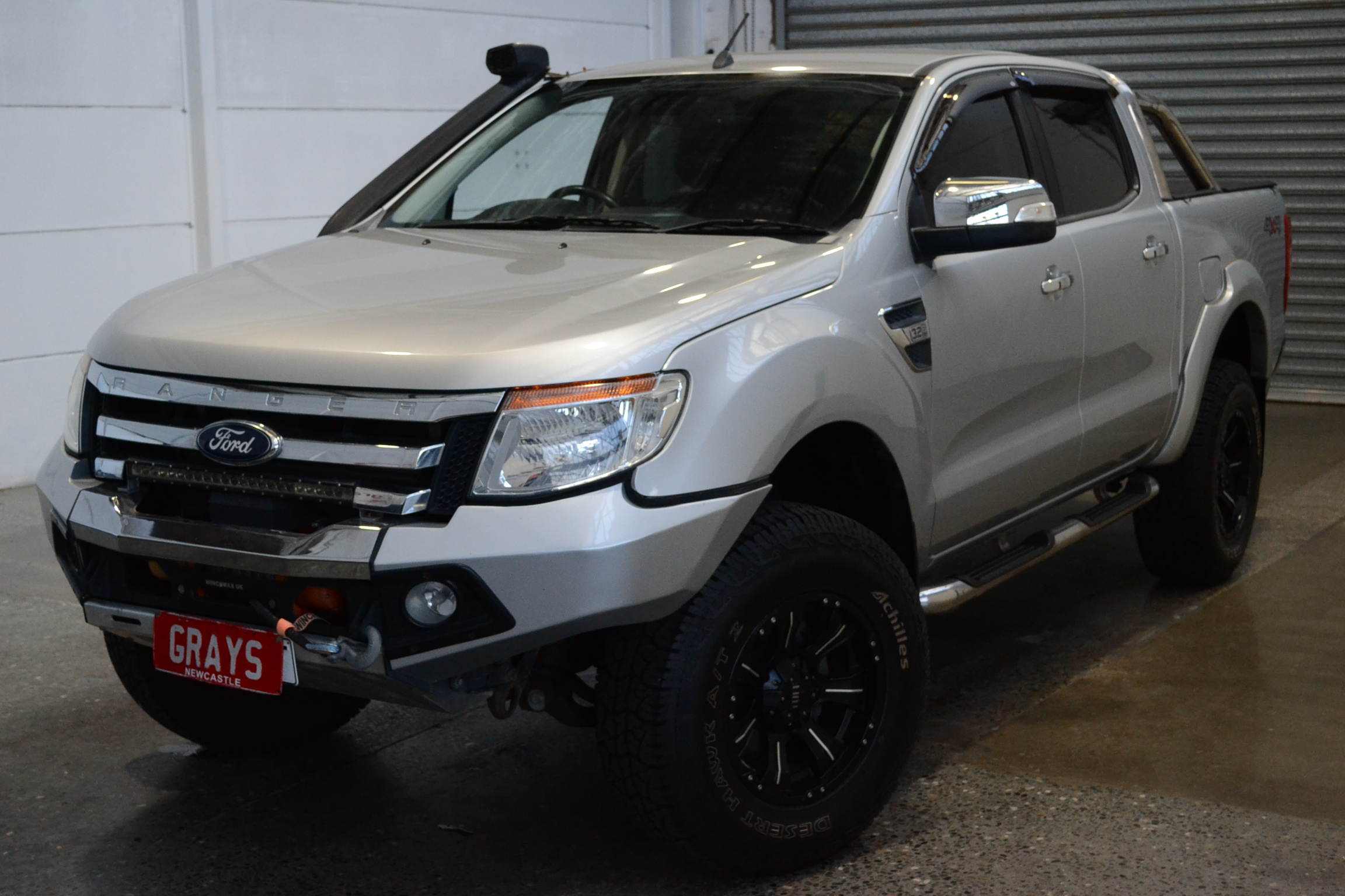 2013 Ford Ranger XLT 4X4 PX Turbo Diesel Automatic Dual Cab