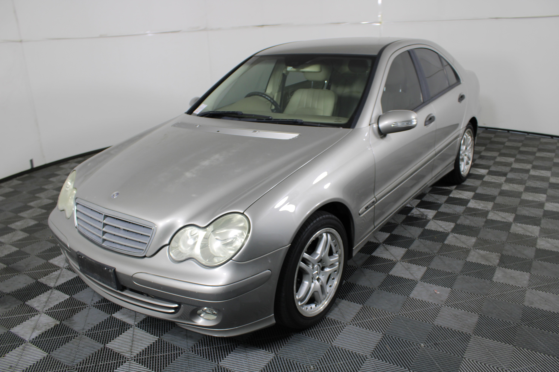 2004 Mercedes Benz C180 Kompressor W203 Automatic 168,944 Km's