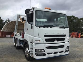 2018 Mitsubishi FV FUSO 6 x 4 Skip Bin ACTROS 6 x 4 Prime Mover Truck