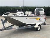 Circa 2008 Stacer 459 Barra Pro Boat, 60hp Suzuki 4 Stroke
