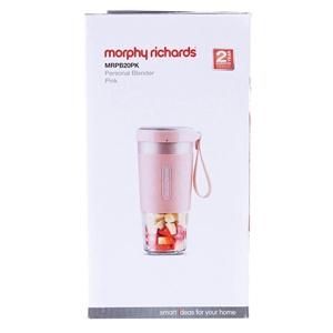 MORPHY RICHARDS Personal Blender, Pink.