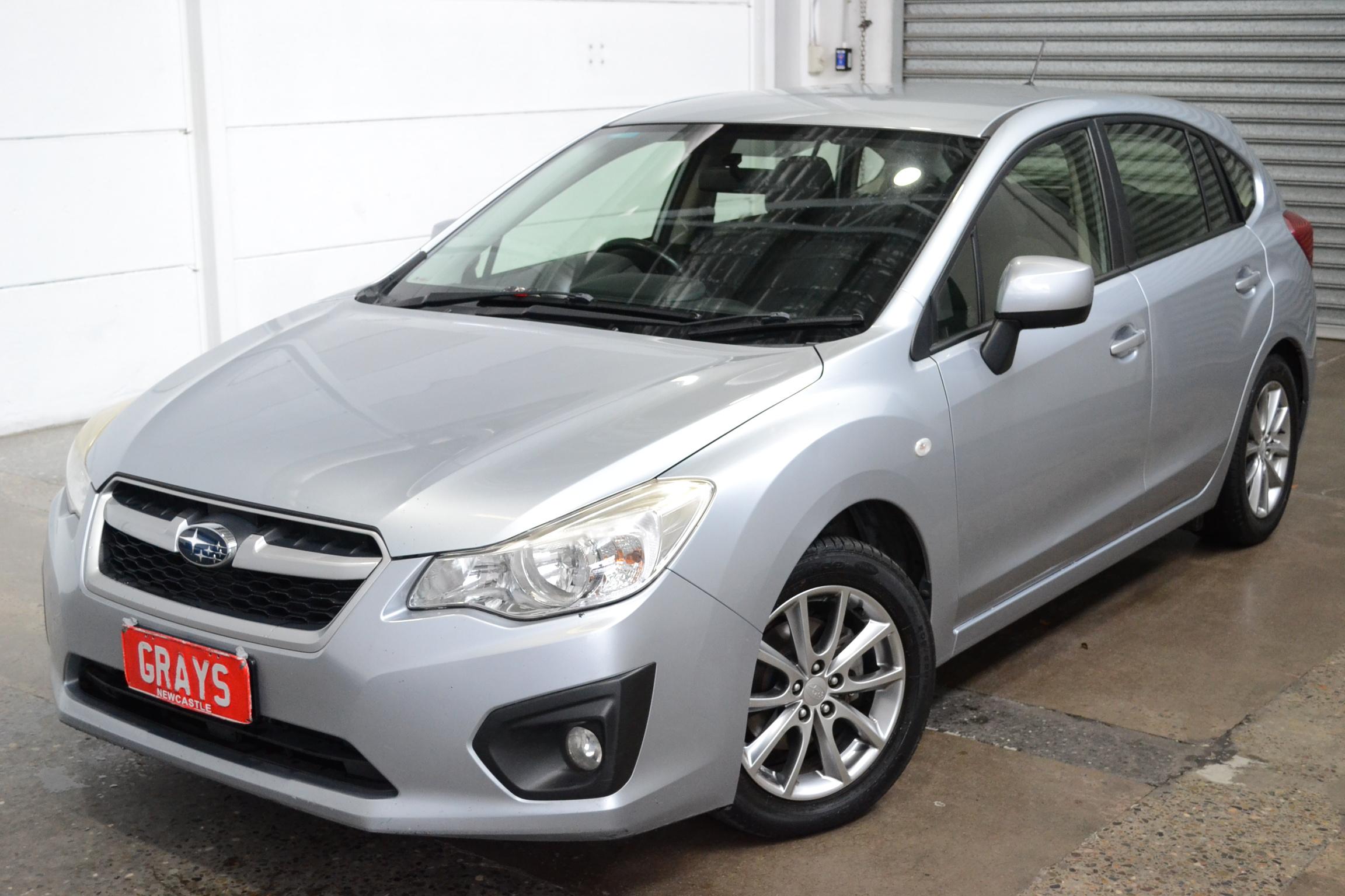 2014 Subaru Impreza 2.0i (AWD) G4 CVT Hatchback