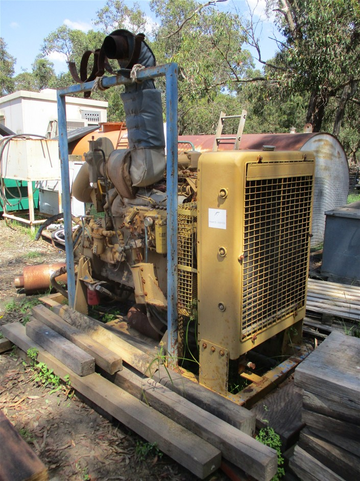 CAT 6 Cyl Engine 306T - Skid Mounted