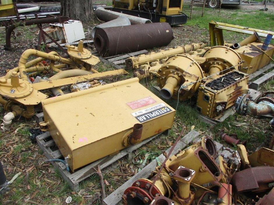 Large Quantity of Assorted Caterpillar Generator Parts