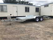 Unused Boat, Car, Plant, Tipper & Box Cage Trailers
