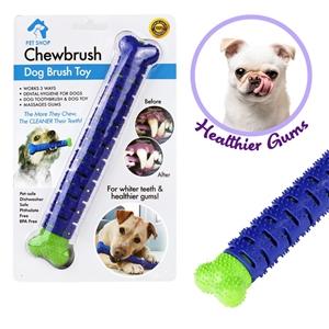 Pet Love Dog Toothbrush Drew Brush Bone