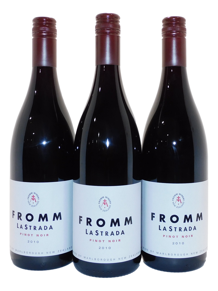 Fromm Winery La Strada Pinot Noir 2010 (3x 750mL), Marlborough