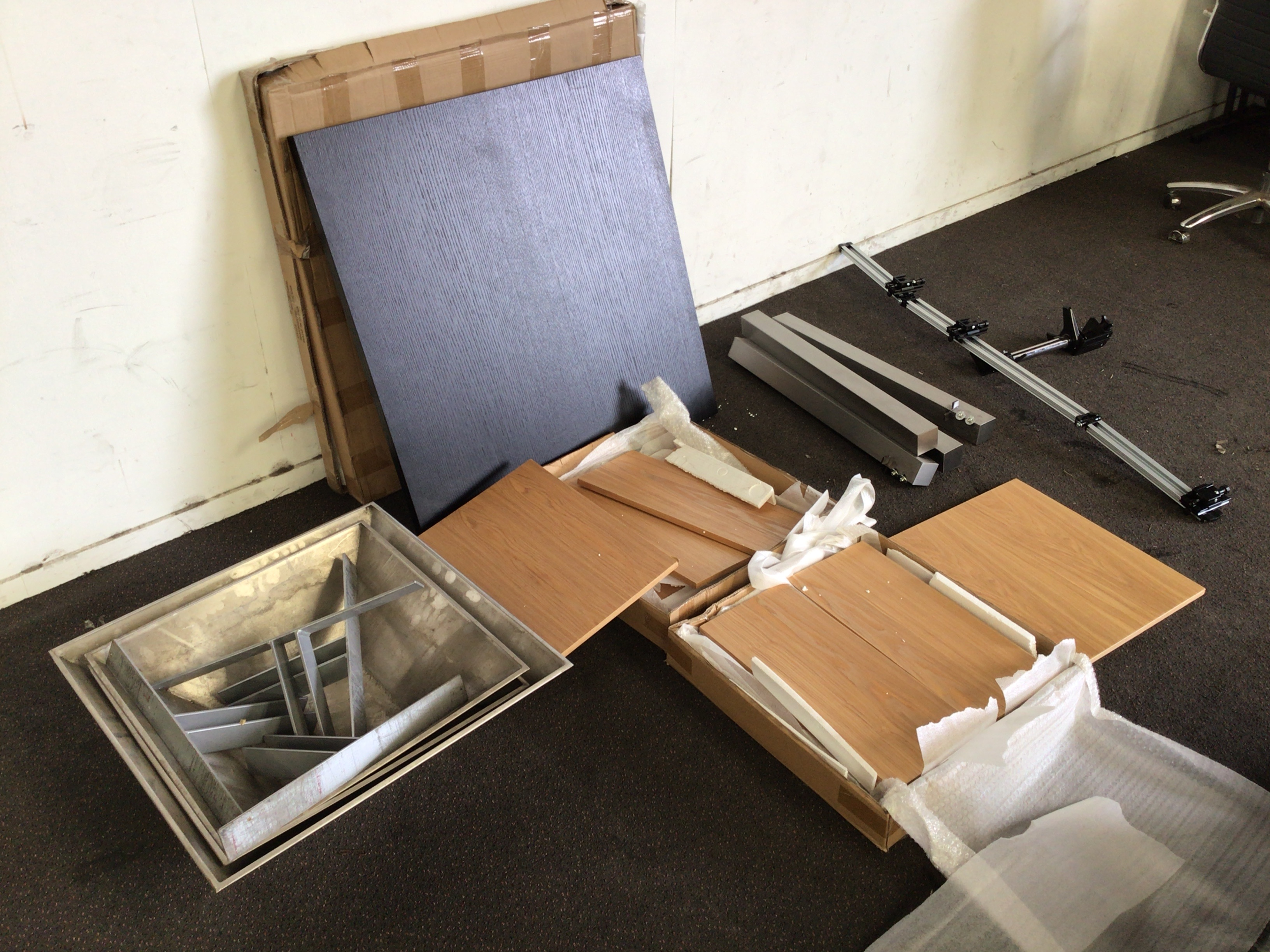 Plt Qty of Assorted Furniture Components