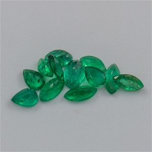 1.60ct Transparent Emerald Set