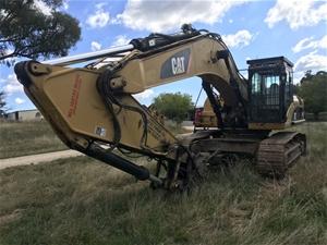 Caterpillar 336D Hydraulic Excavator (Tu