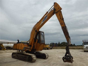 Excavator Samsung SE210LS-3 with Log Grab