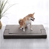 Charlie's Pet Padded Support Mat with Bolster Rectanger, Size100*75*8cm