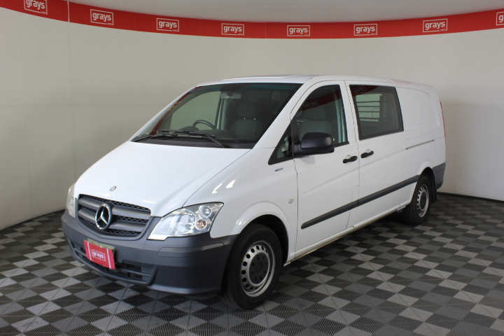 2013 Mercedes Benz Vito 113 CDI LWB Turbo Diesel Auto Van