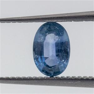 0.54ct Clear Blue Sapphire