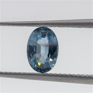 0.61ct Clear Blue Sapphire