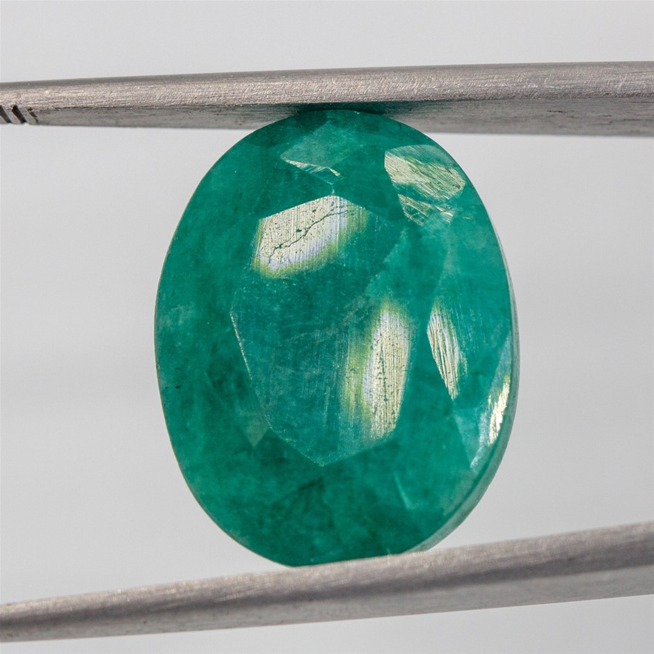 14.67ct Colour Enhanced Emerald