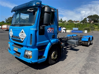 2014 Iveco Eurocargo 6x2 Cab Chassis Truck
