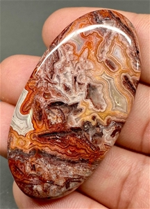 75.24 Carats Stunning Crazy Lace Agate