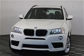 Unreserved 2013 BMW X3 xDrive 20i F25 Automatic