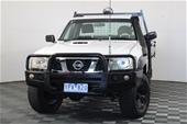 Unreserved 2011 Nissan Patrol DX (4x4) GU Turbo Diesel