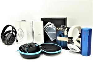 Bundle of Used & Untested Headphones & W