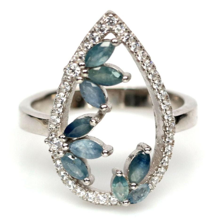 Beautiful Genuine Sapphire Ring.