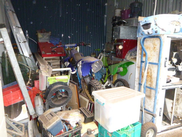 Unpaid Storage Container Contents