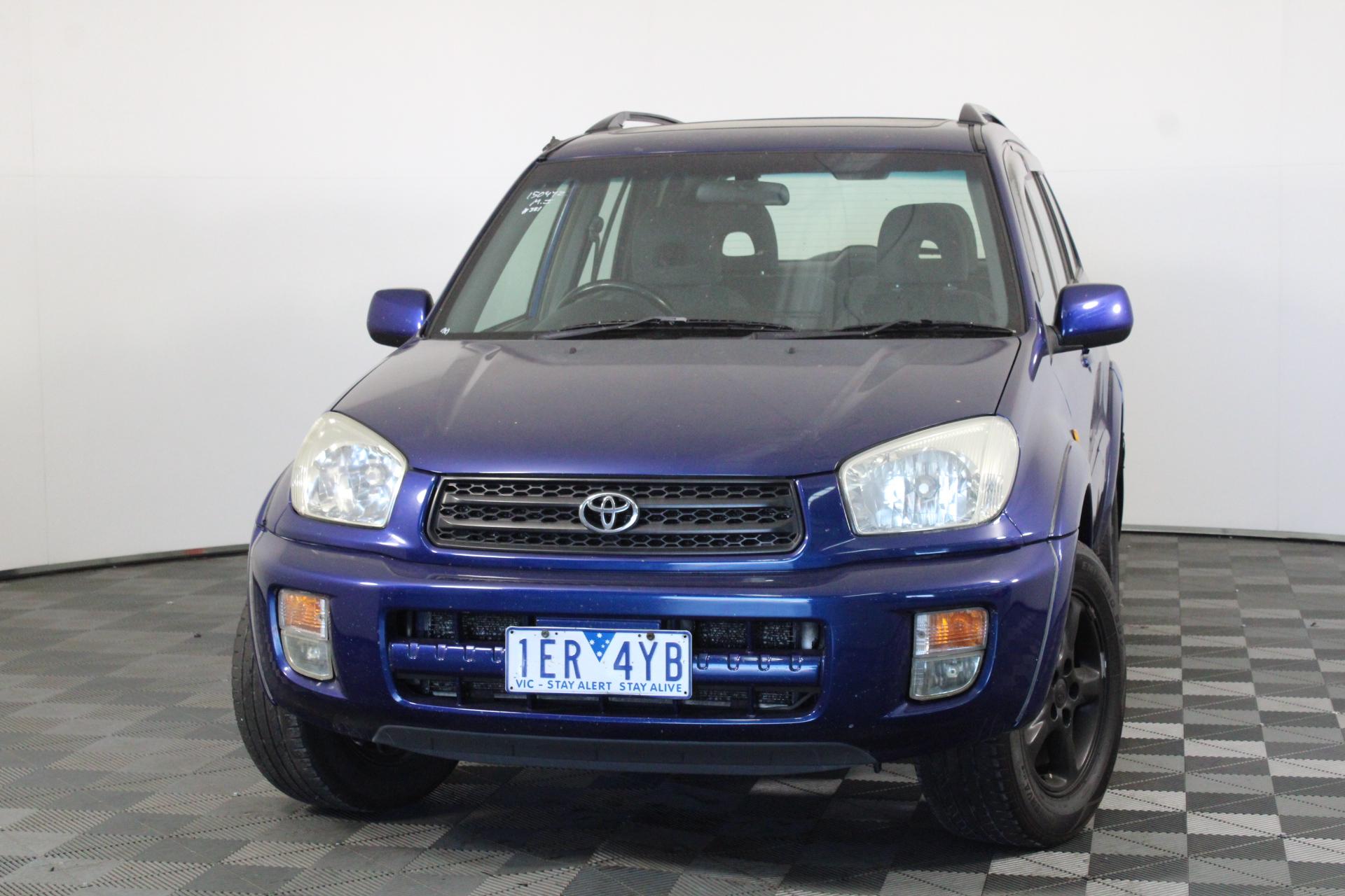 2001 Toyota Rav 4 Cruiser (4x4) Automatic Wagon