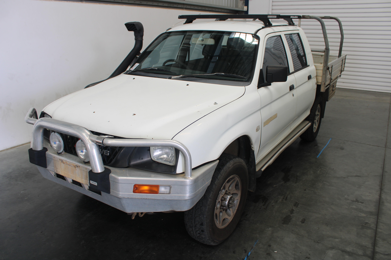 2001 Mitsubishi Triton GLX (4x4) MK Manual Dual Cab