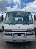 1999 Mitsubishi FM6798A 6 x 2 Tray Body Truck