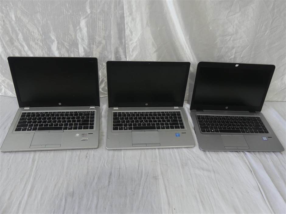 Box Of HP Laptops Approx Includes 2 x HP EliteBook Folio 947