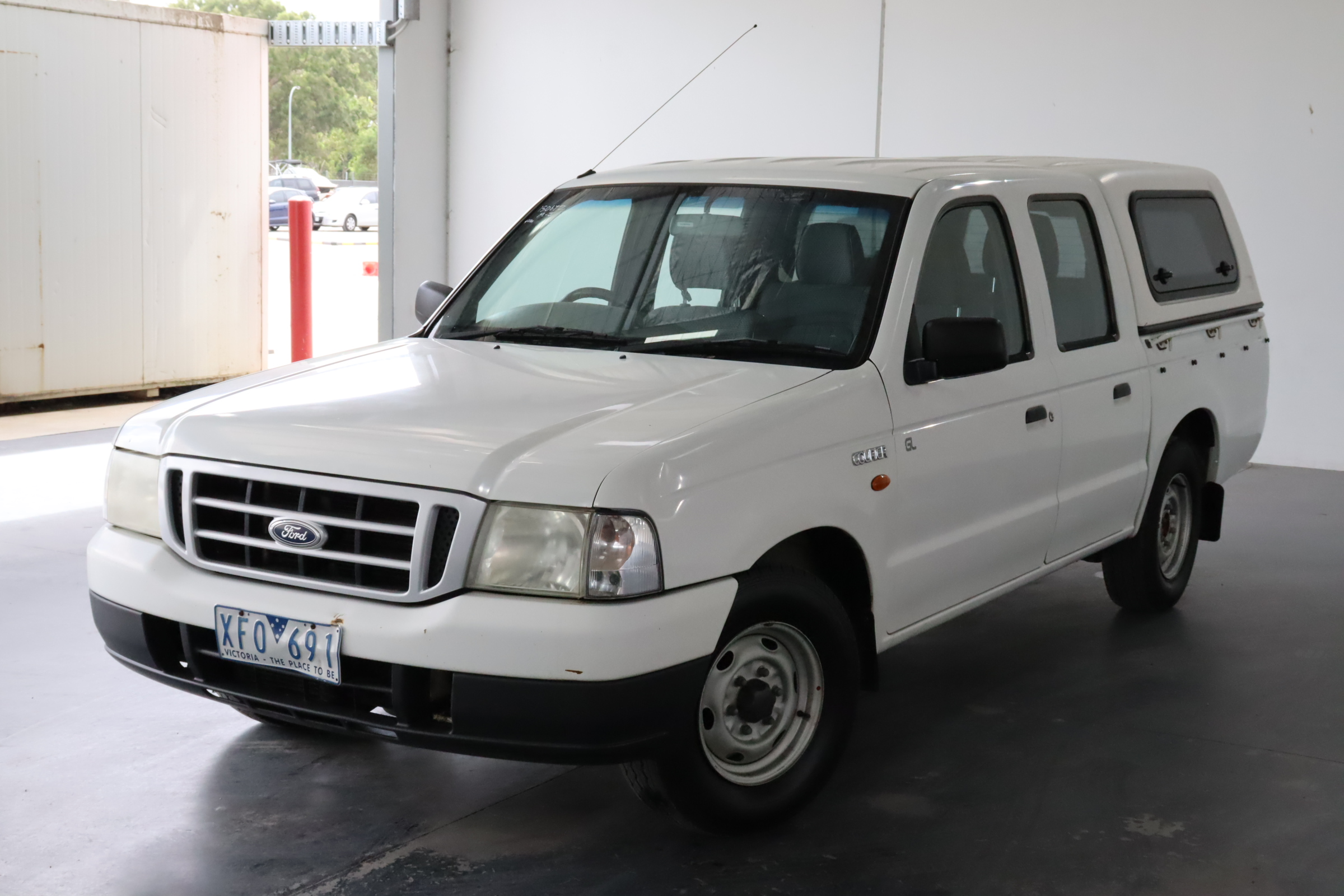 2004 Ford Courier Manual Ute