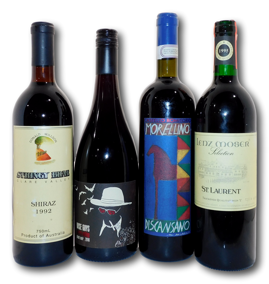 Pack of Assorted Red Wine (4x 750mL),