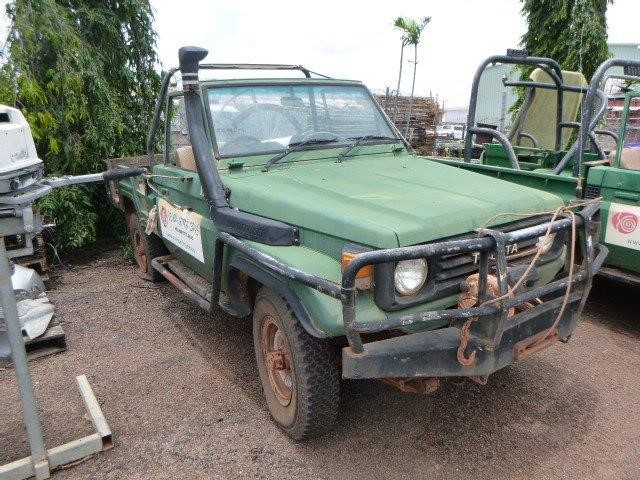 1993 Toyota Landcruiser Safari 4WD Manual Ute