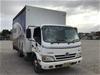 <p>2010 Hino  Hybrid 300  4 x 2 Curtainsider Rigid Truck</p>