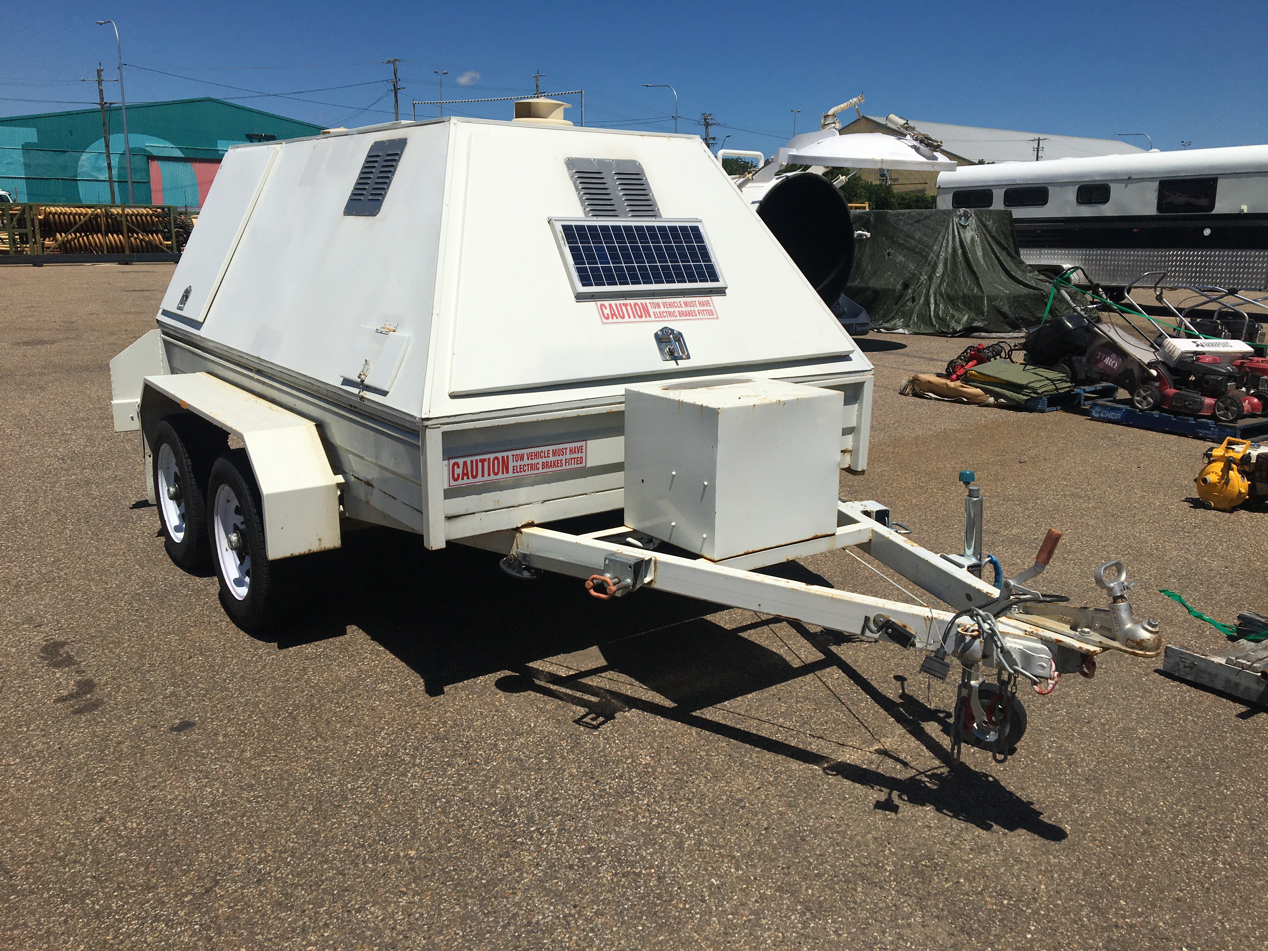 2011 Swiftco Tandem Water Trailer - Ex Council