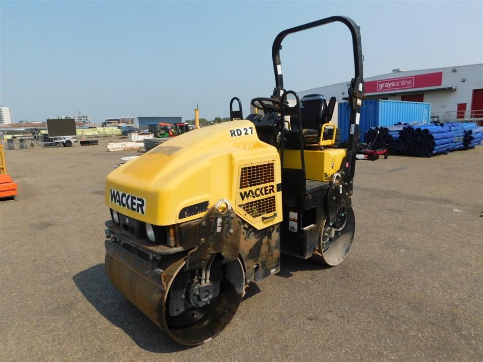 Wacker RD27-100 Roller 2.5 Ton