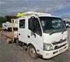 <p>2013 Hino 300 series 2 4 x 2 Tray Body Truck (Pooraka, SA)</p>