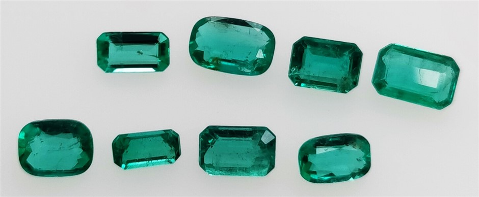 2.34 Carat Colombian Green Emerald