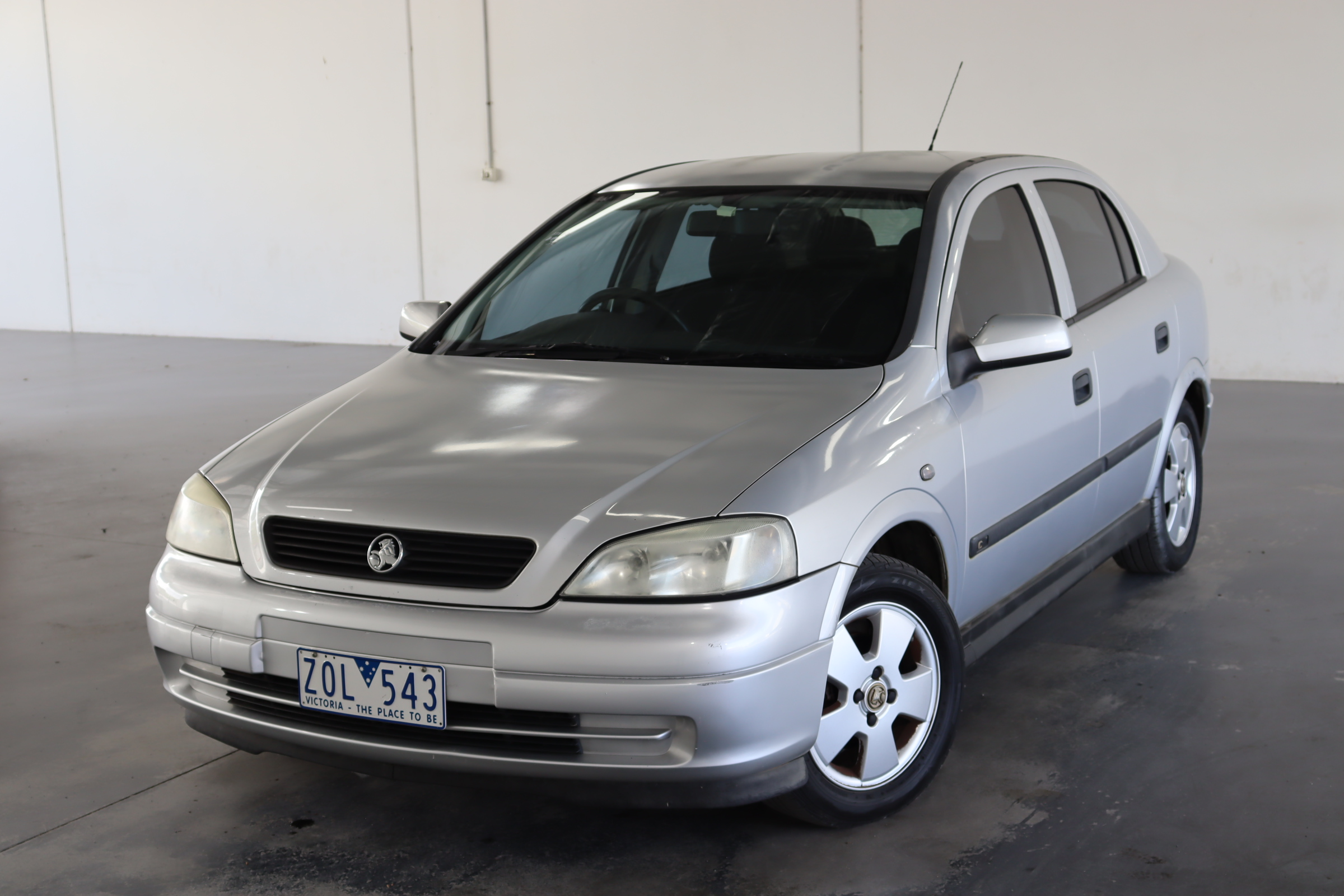 2002 Holden Astra CD TS Automatic Hatchback