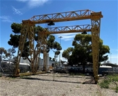Outdoor Gantry Cranes and Platform Wagons - VIC Pickup