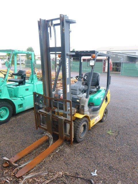 2005 Komatsu FD18T-20 4 Wheel Counterbalance Forklift