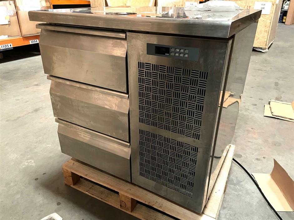 3 Drawer Underbench Freezer