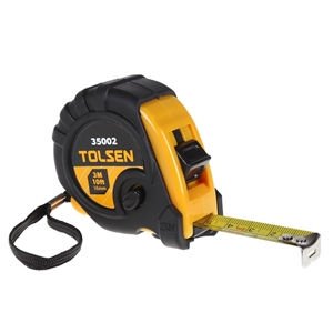 6 x TOLSEN Tape Measure, 3M x 16mm, Stee